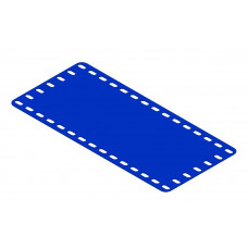 Flexible plate, 7 x 15 holes