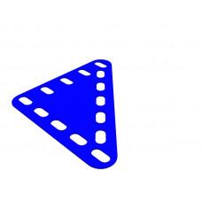 Flexible plate, rectangular, 5 x 5 holes wide