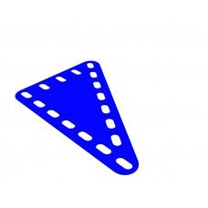 Flexible plate, rectangular, 5 x 7 holes wide