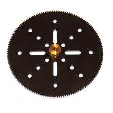 Gear 152t; 38DPI; 2.10mm flank; 2 x M4 threads