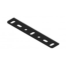 Flat rack strip, 7 holes