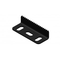 Angle rack strip, 3 holes
