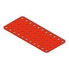 2mm-flat plate, 5 x 11 holes