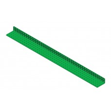 2mm-L-section angle girder, 49 holes