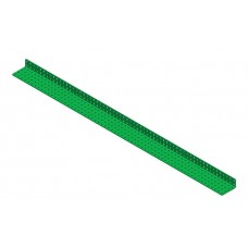 2mm-L-section angle girder, 63 holes