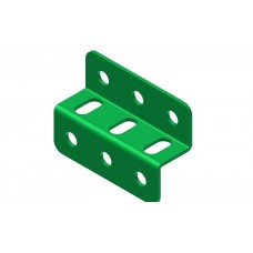 Z-section angle girder, 3 holes