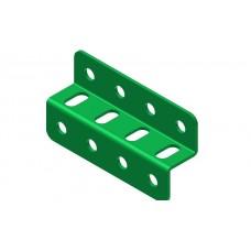 Z-section angle girder, 4 holes
