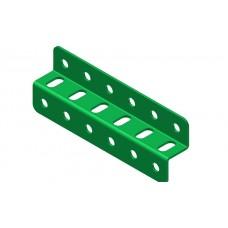 Z-section angle girder, 6 holes