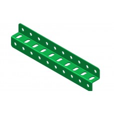 Z-section angle girder, 10 holes