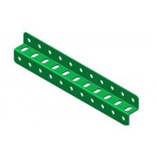 Z-section angle girder, 11 holes