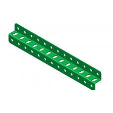 Z-section angle girder, 13 holes