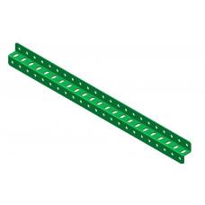 Z-section angle girder, 23 holes