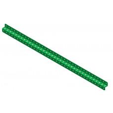 Z-section angle girder, 37 holes