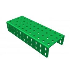 2mm-U-section angle girder, 11 holes