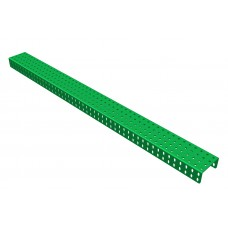 2mm-U-section angle girder, 49 holes