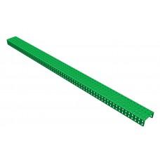 2mm-U-section angle girder, 63 holes